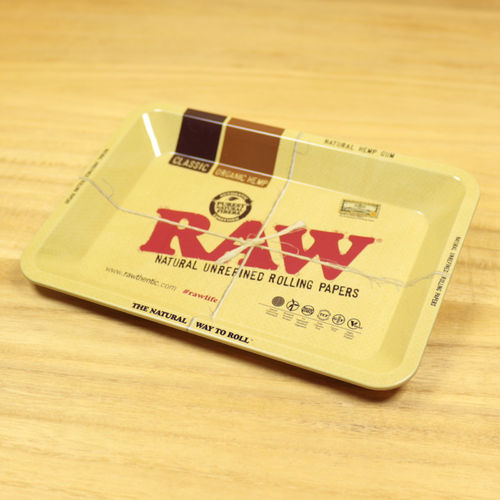 RAW Metall Rolling Tray mini, 18x12,5 cm