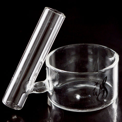 Weedstar Cockle Glass-Ashtray with tube