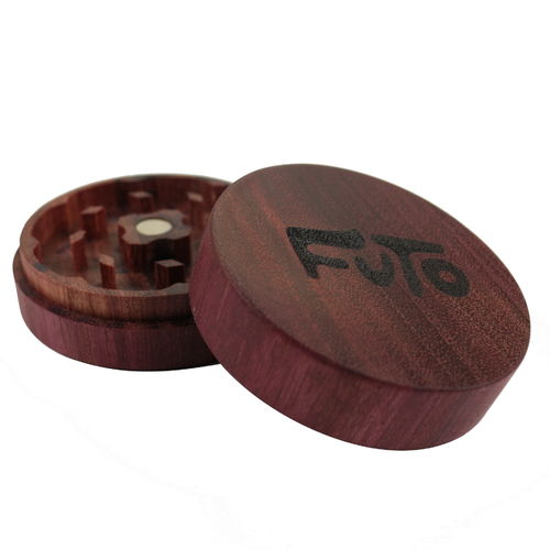Futo Purple Heart Grinder, CNC-Cut