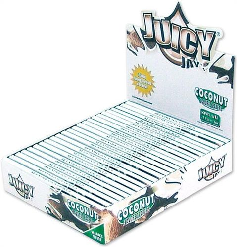 Juicy Jays King Size Slim - Coconut