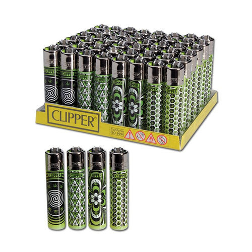 Clipper Lighter, Weed Pattern
