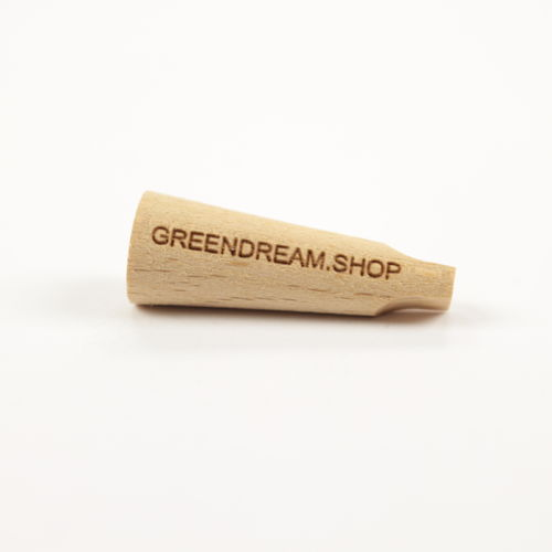 Joint Halter - Wooden Tip, Greendream