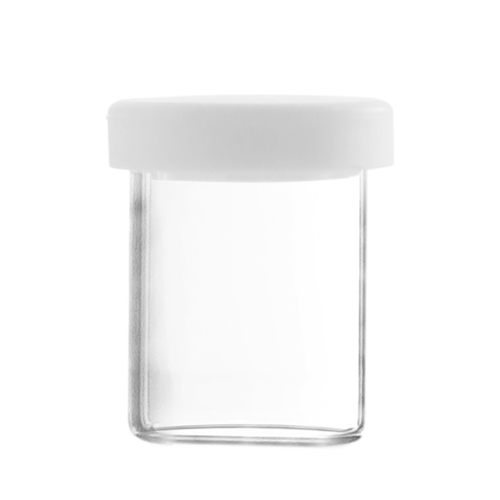 Dabbing Glass Container with Silicone Lid, 10ml
