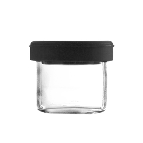 Dabbing Glass Container with Silicone Lid, 5ml