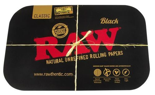 """RAW Black"" Tray Magnet-Cover, klein"
